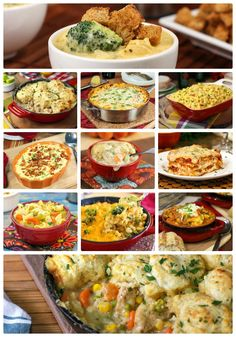Comfort Food Made Easy #recipes #soup #casseroles #skillets #fall @slowroasted