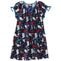 Zutano Girls 2-6X Beluga Picnic Dress