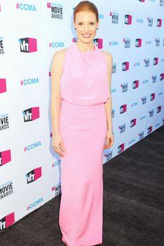 Michelle Williams, Jessica Chastain at Critics Choice Awards
