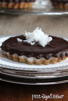 Pint Sized Baker: Haupia (Hawaiian Coconut Dessert) Tarts