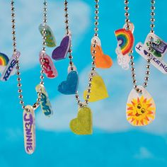 14 Delightful Crafting Birthday Parties for Kids  Shrinky Dink Charm Party