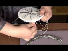 ▶ 1906-3 Learn about beaded kumihimo with Jill Wiseman on Beads, Baubles & Jewels - YouTube