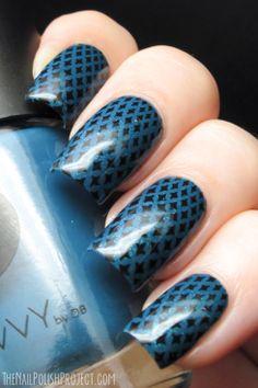 NOTD: Starry Nails