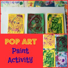 Print-Art Activity inspired by Andy Warhol