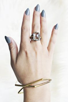 Gypsy with an edge, I love this ring! www.mooreaseal.com