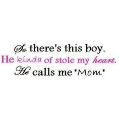 Love this! Blessed to have a son! <3