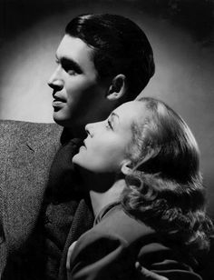 James Stewart and Carole Lombard in a publicity shot for Made for Each Other, 1939
