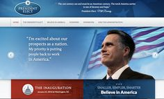 Mitt Romney accidentally publishes his victory website!