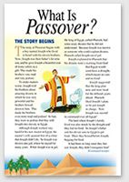 What is Passover hand out