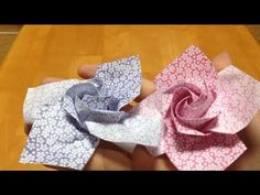 Only one origami rose Video 2 -   www.youtube.com/watch?feature=player_embedded=m-E1ToP7rt0