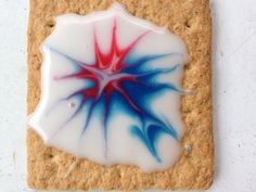 Fire-Crackers:: Easy kid project for iced graham crackers