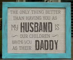 Father's Day gifts for Husband Daddy by abidingwordcreations, $18.00