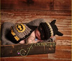 Crochet Baby Batman