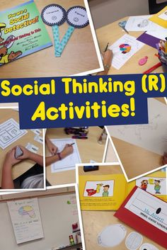 """Activities for """"You Are A Social Detective…"""""""