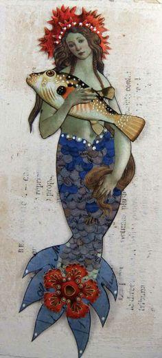Mermaid Paper Dolls
