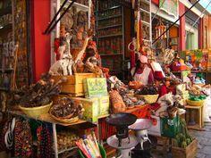 Mercado de las Brujas en La Paz..