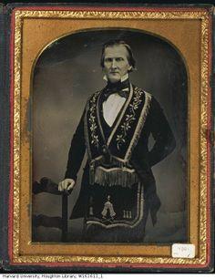 (c.1840s-50s) Fraternal Order Member