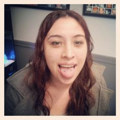 Surface Tongue Piercing