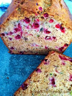 Wild Alaskan Low Bush Cranberry Zucchini Nut Bread - I made this recipe with Wild Alaskan Low Bush Cranberries, however feel free to use what you can get if you are not in Alaska - Glenn M.