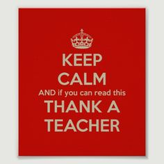 It's time to thank a teacher and all the educators for what they do everyday! www.nea.org/teacherday