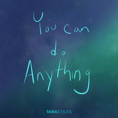 Sharespiration #6 – You can do anything