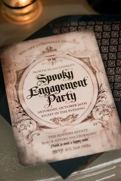 Halloween engagement party ideas