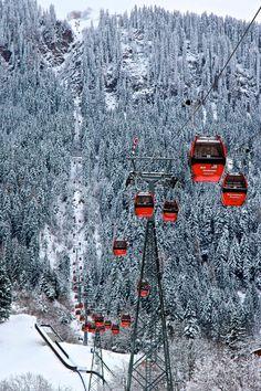 Winter Vacation - World Famous Winter Resorts - Kitzbuhel, Austria  www.mammothmountainchalets.com