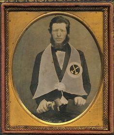 (c.1850s) Master Mason