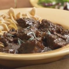 Braised Beef & Mushrooms  - EatingWell.com