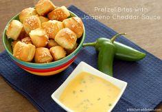 cheddar chees, appet, jalapeno cheddar, pretzel bites, food, pretzel cheese sauce, dipping sauces, pretzels, chees sauc