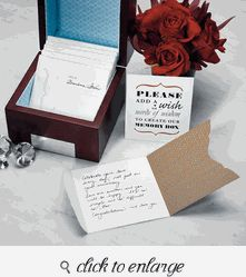 """Well Wishing"" Stationery Set - Guest Book Ideas For Wedding - Guest Book Alternative"