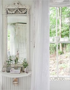 Farmhouse country chic <3 it