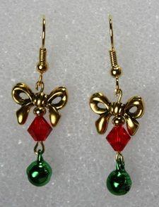 Christmas Earrings - D'Rae Designs
