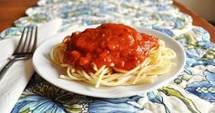 Homemade Sauce - so easy, no blanching & peeling of tomatoes necessary!!!!