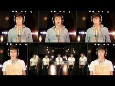 OMG! loved it he's amazing :) Rolling In The Deep (love that song) A Cappella Cover - adele - Mike Tompkins check him out :)