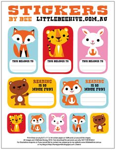 We Love to Illustrate: {FREE} Back To School Printables