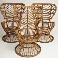 Gio Ponti - Wicker lounge chairs
