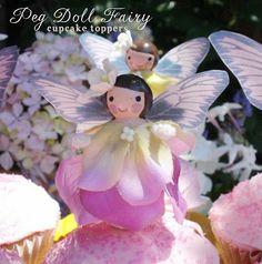 *Rook No. 17: recipes, crafts & whimsies for spreading joy*: Wooden Peg Fairy Doll DIY {for whimsical favors, cupcake toppers, and birthday ...