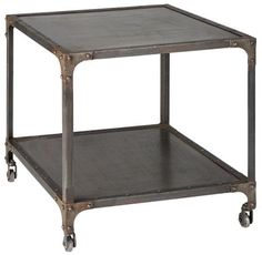coffee tables, outlet, wheels, beverage cart, family rooms, industrial style, bedside tables, end tables, families