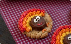 Bake at 350: Peanut Butter Cup Turkey Cookies