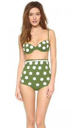 Trend Alert: The High-Waisted Bikini | theglitterguide.com