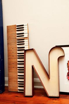 old piano keys?  yes please.