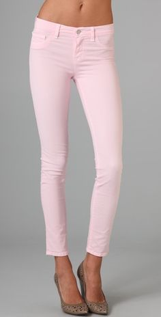 new pink j brand's!