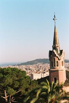 1 Parc Guell Gaudi's House view smlr, Barcelona by StevenC_in_NYC, via Flickr