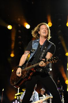 Tyler Hubbard of Florida Georgia Line performs at LP Field in Downtown Nashville on Saturday, June 8 during the 2013 CMA Music Festival. Photo courtesy of the CMA., 2013