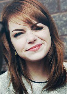 Emma Stone - cute hair