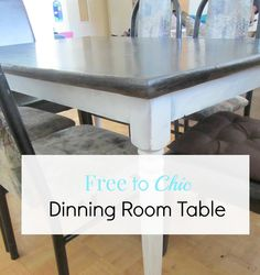 Table Free to Chic D