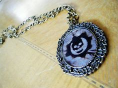 Gears of War Crimson Omen Cameo Necklace by SuperfastSpider