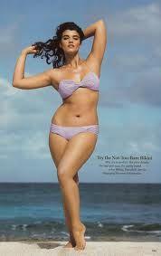 crystals, model, plus size, real women, curvy girls, real beauty, curvy women, bikini, crystal renn