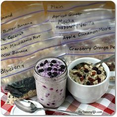 Make Instant Oatmeal Packets Hot and Cold